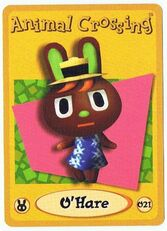 O' Hare's E-Reader Card