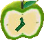Juicy-apple clock emerald