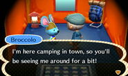 Broccolo ACNL Camping