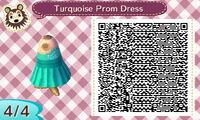 Turquoise Prom Dress 44