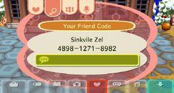 Friendcode