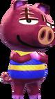 Rasher - Animal Crossing New Leaf