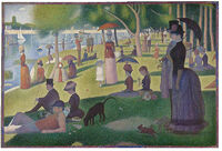 Sunday afternoon on the island de la grande jatte