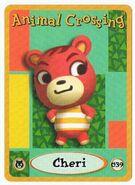 Cheri's e-reader card