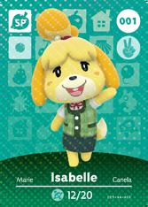 Amiibo 001 Isabelle