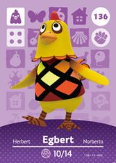 Amiibo 136 Egbert