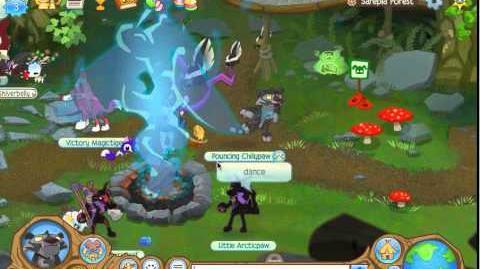 Animal Jam Secrets Mira's Campfire