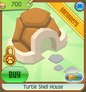 Pets-Only-Shop Turtle-Shell-House Orange