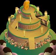 Aj birthday party panorama no background