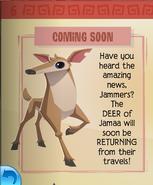 Deer coming soon