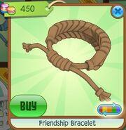 Friendship Bracelet ('Dead Leaf' Brown, Coloration Variation 06)