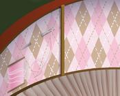 Mushroom-Hut Pink-Argyle-Walls