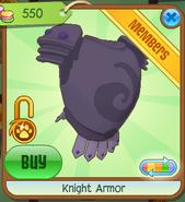 Shop Knight-Armor Purple
