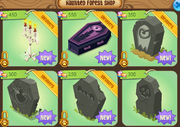 Haunted-Forest-Shop Den-Items 2015