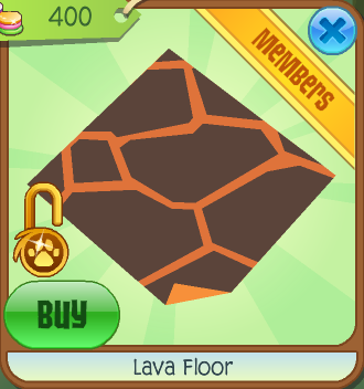 Animal jam lava table