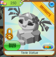 Tavie Statue