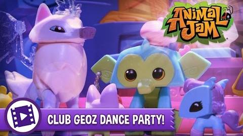Animal Jam Toys - Club Geoz Dance Party!