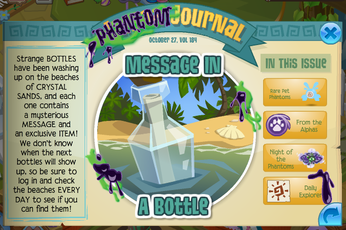 Message in a bottle animal jam wiki fandom powered by - How to get a bat on animal jam ...