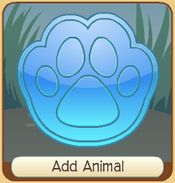 New Animal Button