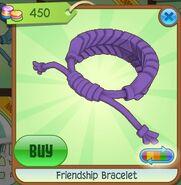 Friendship Bracelet (Plum, Coloration Variation 02)