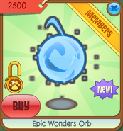 Epic-Wonders Epic-Wonders-Orb Blue-2012