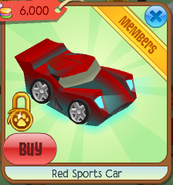 Red sports car 2