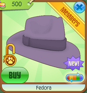 Shop Fedora Purple