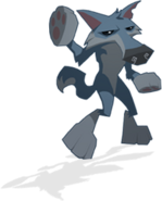AJ dance wolf