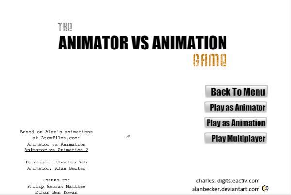 Animator v Animation Game SE