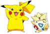 Pikachu and Togepi