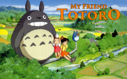 My Friend Totoro Poster