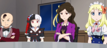 Iketeru, Acquire-chan, Chibusa, Kati Stitched (Akiba Trip Ep 12)
