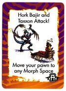 Hork Bajir taxxon card animorphs invasion game