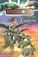 Animorphs 23 the pretender L Heritier french canadian cover