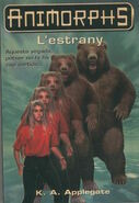 Animorphs 7 the stranger L estrany catalan cover