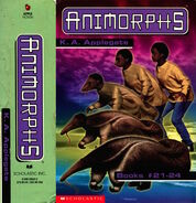 Animorphs boxed set number 6 books 21-24 spine and side