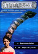 Animorphs 1 the invasion La invasion Spanish cover Mariposa