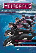 Animorphs 36 the mutation Mutasjonen Norwegian cover