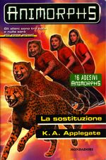 Animorphs 37 the weakness la sostituzione italian cover