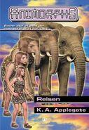Animorphs 42 the journey Reisen Norwegian cover