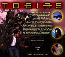 Animorphs 1999 calendar june tobias