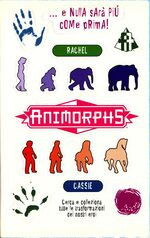 Animorphs 4 the message italian stickers adesivi