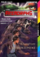 Animorphs 3 the encounter L affrontement french cover folio junior
