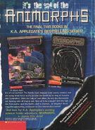 End of animorphs nickelodeon magazine 2001 answer beginning