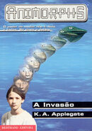 Animorphs 1 the invasion A invasao portuguese cover Bertrand Editora