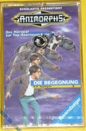 Animorphs 3 the encounter di begegnung cassette tape german