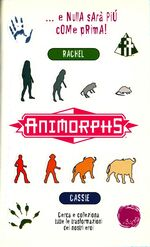 Animorphs 44 unexpected italian stickers adesivi