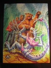 Rachel bear animorphs jigsaw puzzle pieces together