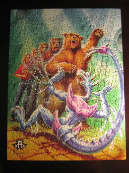 Rachel bear animorphs jigsaw puzzle pieces together
