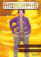 Animorphs 6 the capture A captura brazilian cover Rocco